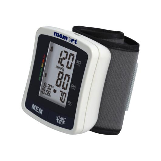 Momert 3102 csuklóra helyezhető vérnyomásmérő
