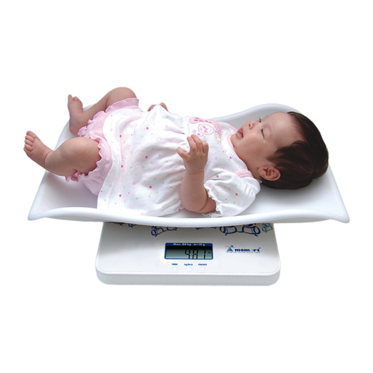 Momert 6425 digitális baba- és gyerekmérleg