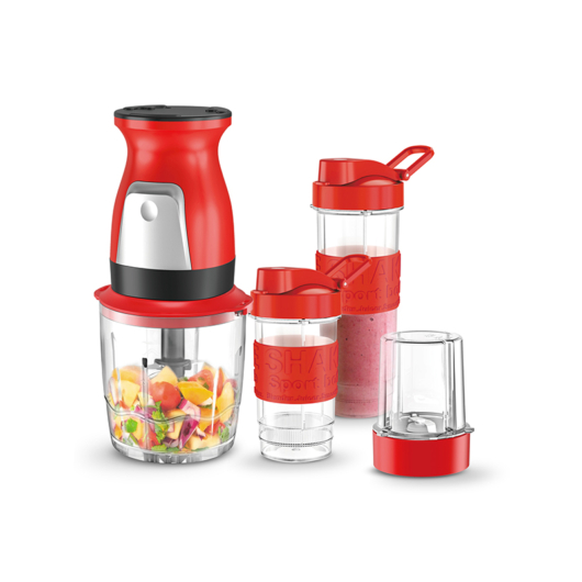 Kalorik BL1007R 3 az 1-ben mixer (kever, darál, aprít) (piros)